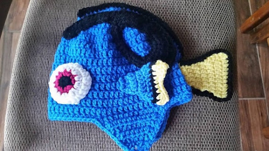 Look likes Dory in Finding Dory Hat all sizes Costume by AMomsGift