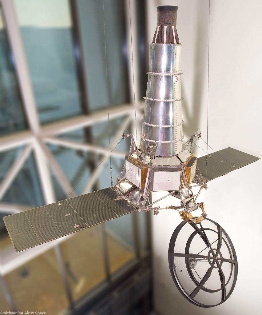 RANGER Lunar Probe (replica).