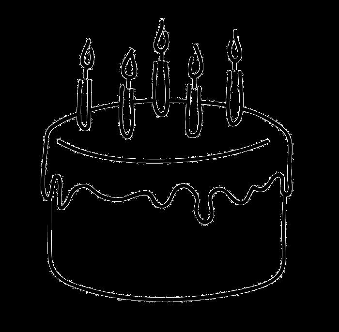 Birthday Sketch Cake Easy