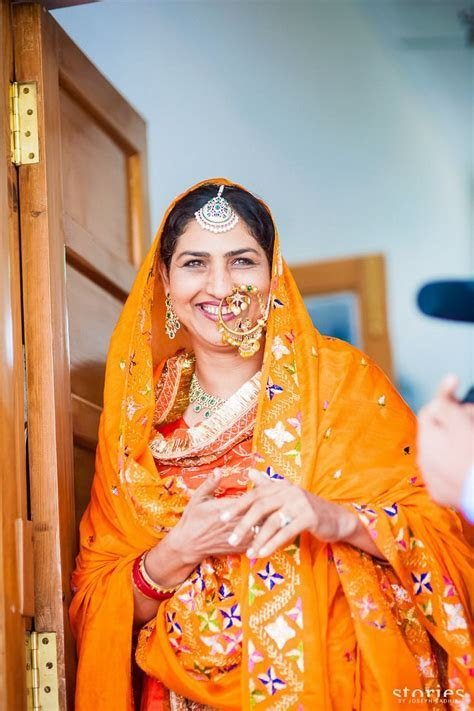 A vintage chic Patiala wedding drenched in Color