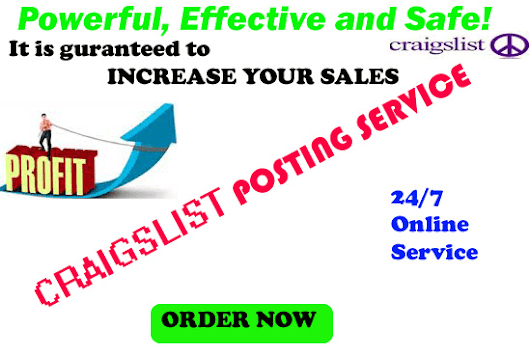 davidvic : I will do craigslist posting services for $5 on www.fiverr.com
