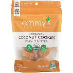 Emmysorg, Cookie Pnut Butter Ccnut - 6 Ounce - PACK OF 8