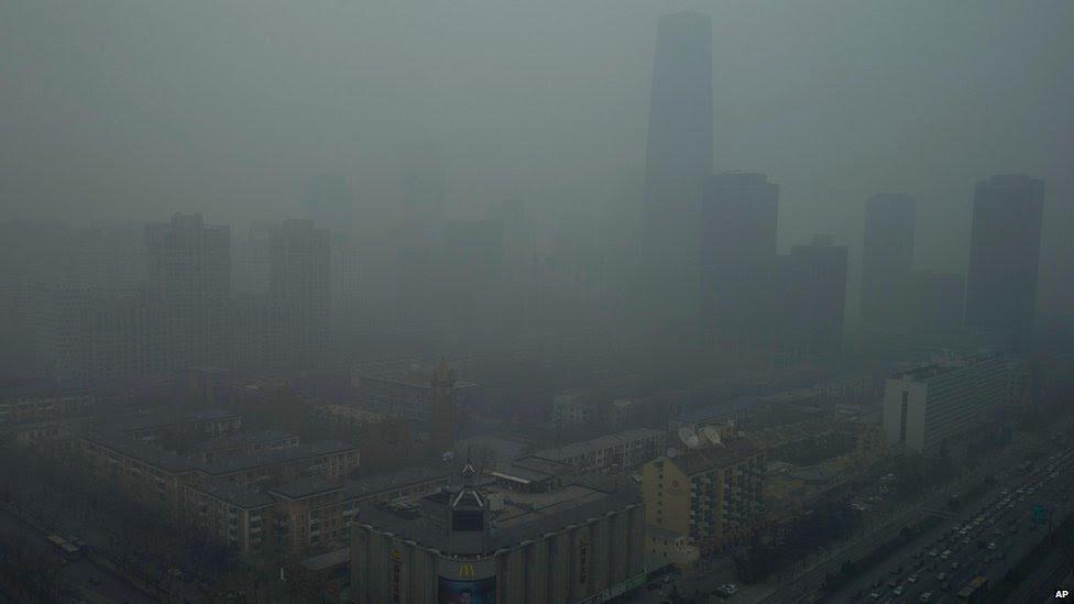 تلوث الهواء في بكين تعرف على الصين