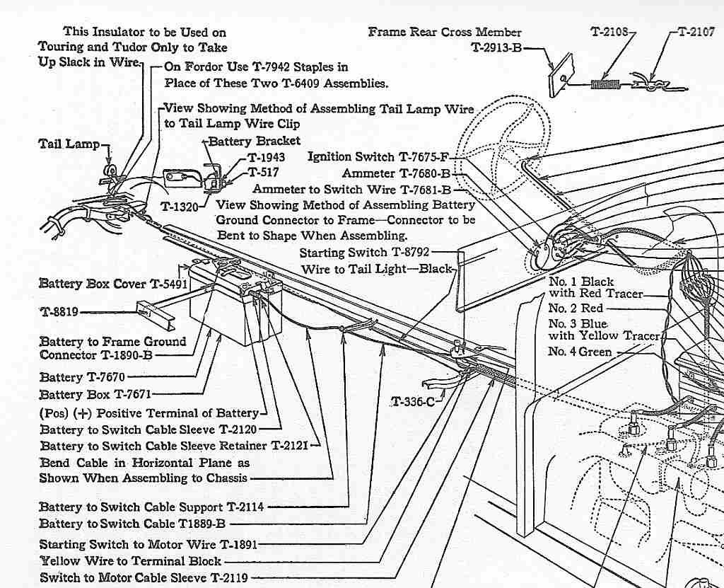 Ford Model A Wiring - Wiring Diagram