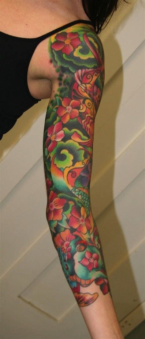tattoos  women arm sleeve tattoo designs  women