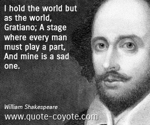 Sad Quotes By Shakespeare. QuotesGram