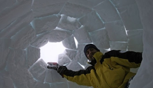 Did you ever fancy building an igloo? (Here is a place where you can actually make 8 such wild dreams come true)