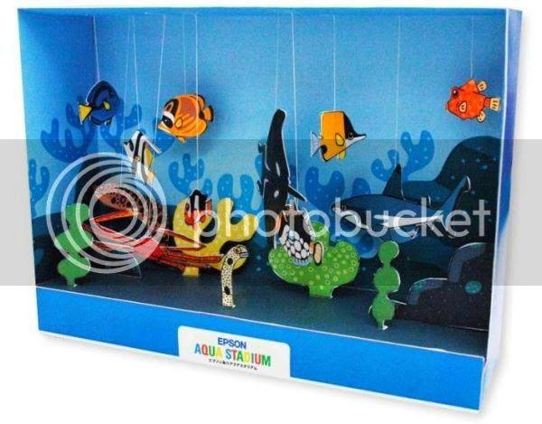 Image result for aquarium paper model