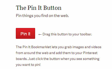 pinterest pin it button, tutorial pinterest
