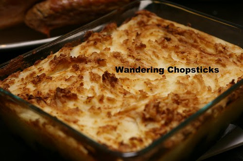 English Cottage Pie with Ground Beef and Mushrooms 1