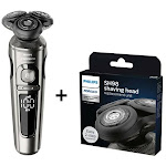 Norelco SP9860/86 + SH98/72 Series S9000 Electric Shaver Kit