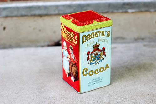 Droste's Cocoa Tin by Jeni Baker