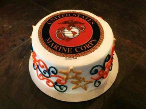 My husband's USMC birthday cake! Happy birthday Marines