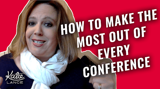 The #GetSocialSmart Show Episode 003: How to Make the Most Out of Conferences | Katie Lance