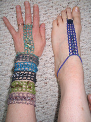 alligators: hand, foot, wrist jewelry