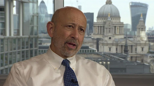 Goldman Sachs boss: City 'will stall' over Brexit risk - BBC News