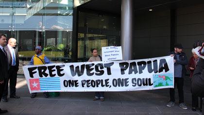 West Papuan protest