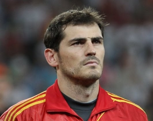 Iker Casilas Spain goalkeeper and captain