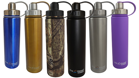 Eco Vessel - insulated water bottle review