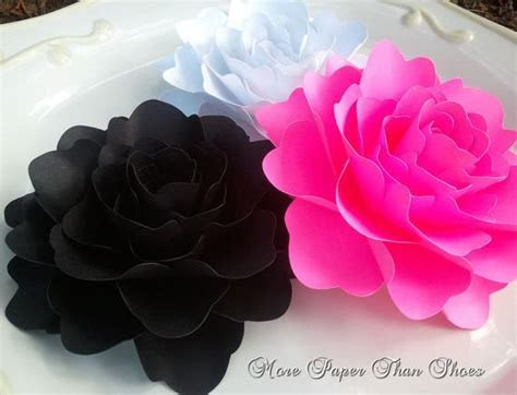 Weddings Paper Flowers X Large Handmade by morepaperthanshoes