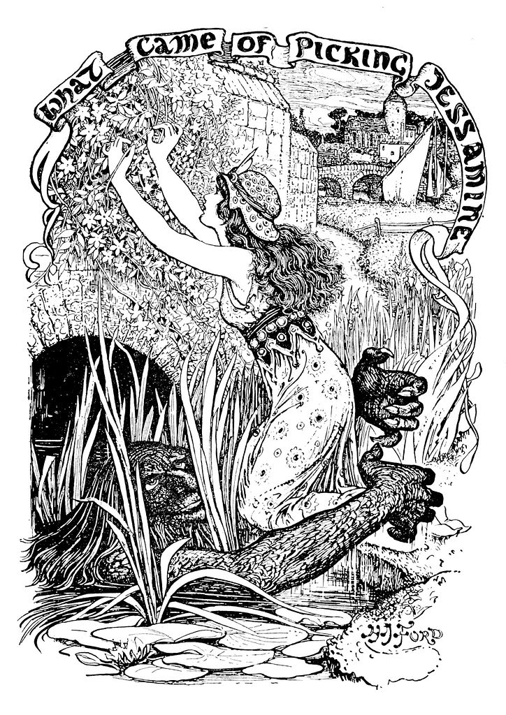 Henry Justice Ford - The grey fairy book edited by Andrew Lang , 1905 (illustration 5)