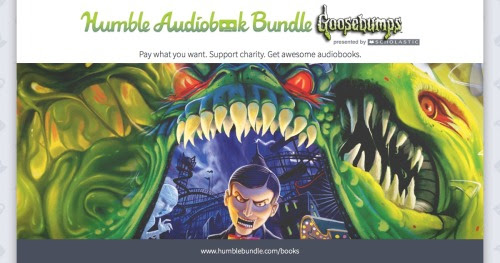We scared up more listening material in the Humble Audiobook Bundle: Goosebumps presented by Scholastic