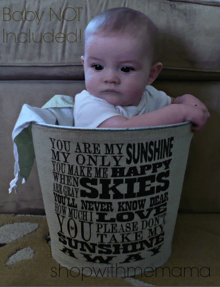 Green Mom Guide: You Are My Sunshine Bucket (Review & Giveaway!)