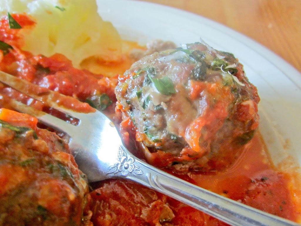 Meaty meatballs