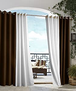 Amazon.com: Outdoor decor Gazebo Indoor Outdoor Window Panels, 50 ...