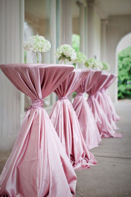 Wedding Idea S Cocktail Table Centerpiece