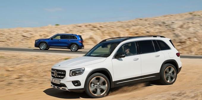 latest 2020 mercedes Benz GLB revealed