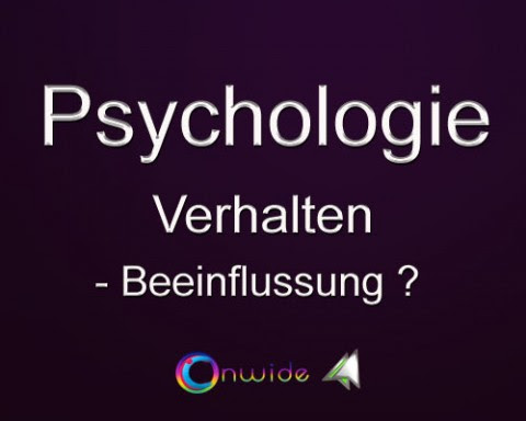 Psychologie | Conwide