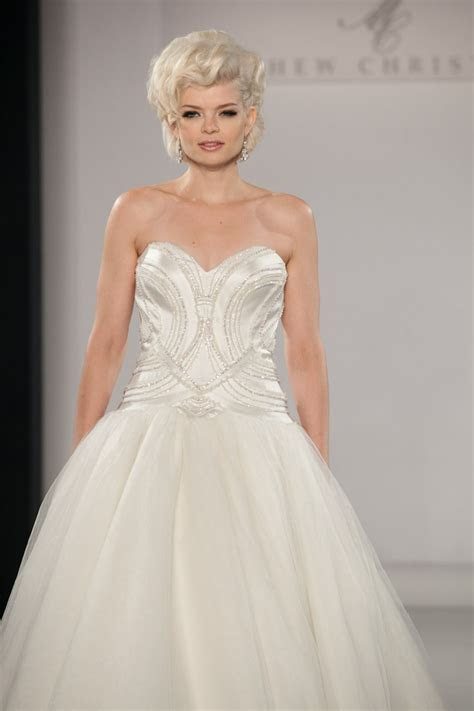 17 Best images about Matthew Christopher Wedding Gowns on