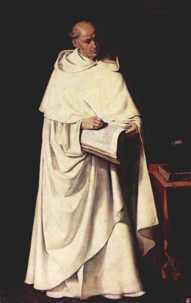Fr. Francisco Zumel Painting by Francisco de Zurbarán