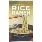 Lotus Foods Rice Ramen, Jade Pearl With Miso Soup 2.8 Ounce -PACK 10