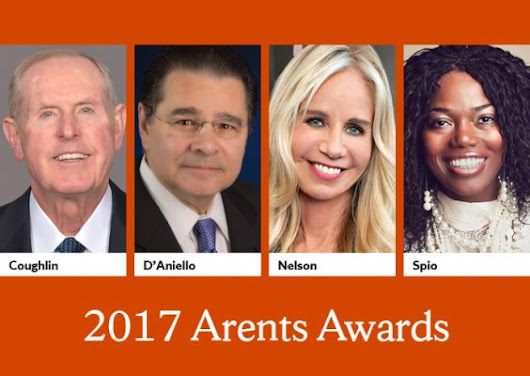 Four Accomplished Alumni to Receive Arents Awards During Orange Central