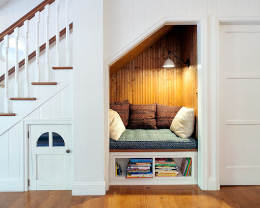 Great Ideas For the Space Under the Stairs - Matt Baier Organizing