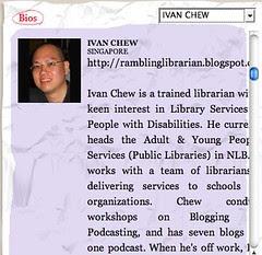 Singapore Writers Festival - Ivan Chew