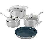 Zwilling Clad CFX Cookware Set (7-pc Set or 10-pc Set)