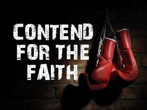 Why Contend for the Faith? - Servants of Grace