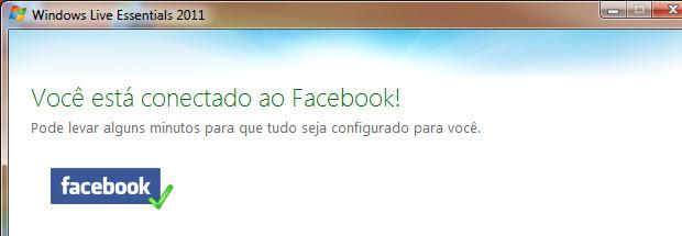 Integração do Facebook com o MSN (Foto: Reprodução/TechTudo)