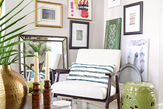 Shop The Tour: Colorful Global Eclectic Living Room - Casa Watkins Living