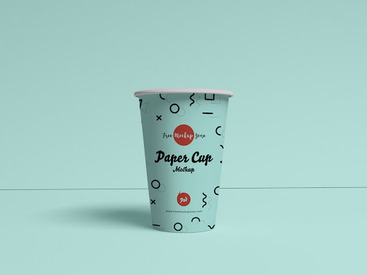 Free Brand Paper Cup Mockup PSD 2019 - Free Mockup Zone