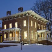 Chelsea District Library's McKune House Winter
