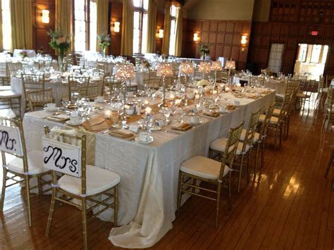 Lovely 'captain's' table @ the Michigan League