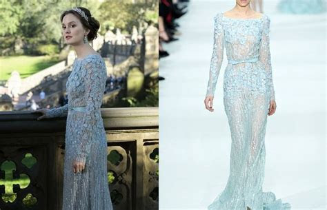Blair Waldorf?s wedding dress by Elie Saab #GossipGirl
