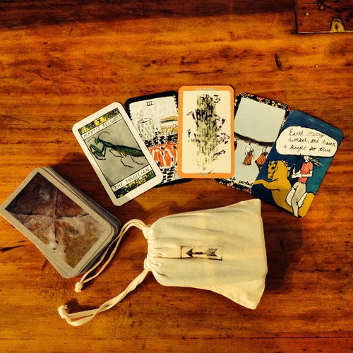 Emily Dickinson Tarot Cards
