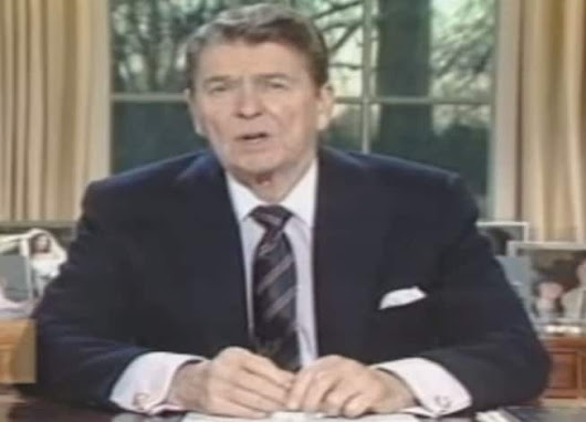 Exactly the right words, exactly the right way: Reagan's amazing Challenger disaster speech