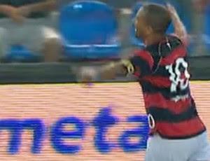FRAME - Djalminha Flamengo showbol (Foto: Reprodução SporTV)