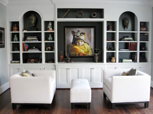 Portland Home contemporary living room